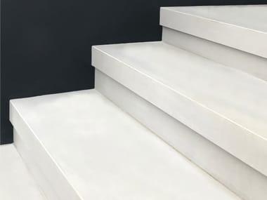 Rivestimento per scale in gres porcellanato Gradini ad alzata compensata