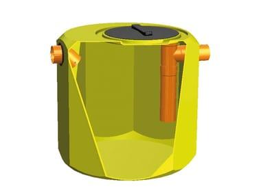 Sedimentation tank for drainage system DEGRASSATORE