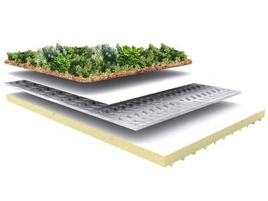 Roof garden system GreenROOF