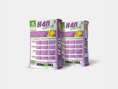 Gel-adesivo strutturale flessibile H40® NO LIMITS®