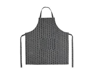 Cotton kitchen apron H55 | Kitchen apron
