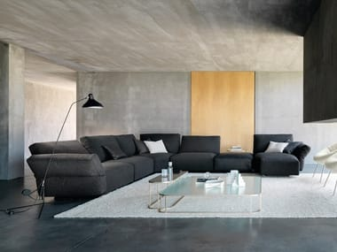 Sectional sofa with removable cover HAB