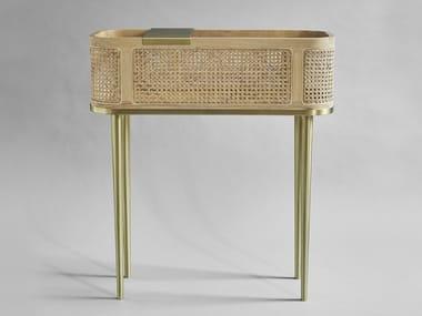 Bamboo bar cabinet HAKO | Bar cabinet