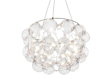 LED pendant lamp HALF STAR