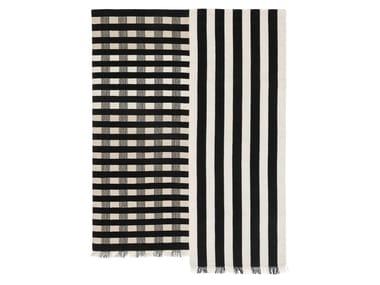 Handmade striped rug HALFSTRIPE