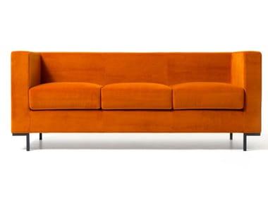 3 seater fabric sofa HALL | Sofa