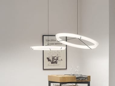 LED steel pendant lamp HALO JEWEL 2350_2351