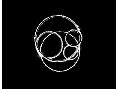 Lampada a sospensione a LED con cristalli Swarovski® HALO