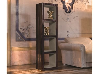 Open wooden shelving unit HAMILTON   Bookcase