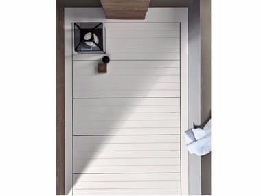 Piatto doccia filo pavimento in Corian® HAMMAM | Piatto doccia