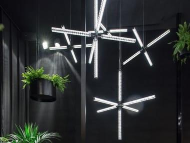 Lampadario a LED con cristalli Swarovski® HANABI
