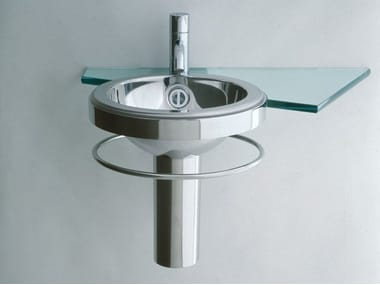 Stainless steel handrinse basin with towel rail HANDAQUA