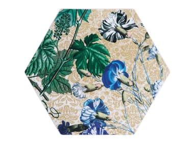 Hexagonal porcelain tray KYMA | Porcelain tray