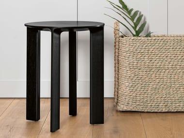 Solid wood stool HANS