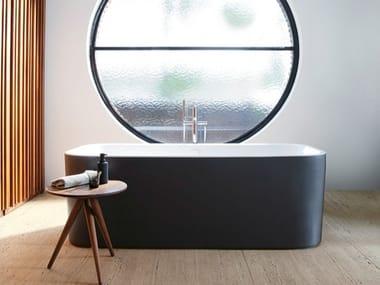 Vasca da bagno centro stanza rettangolare in acrilico HAPPY D.2 PLUS | Vasca da bagno
