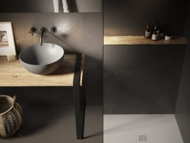 Lavabo d'appoggio HAPPY HOUR SLIM 06:00 S ALCHEMY