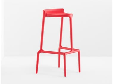 High stackable polypropylene stool HAPPY 490