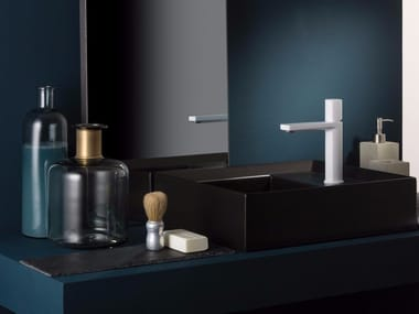 Countertop single handle washbasin mixer HAPTIC | Single handle washbasin mixer