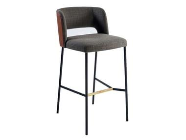 Barstool with footrest HARRI | Barstool