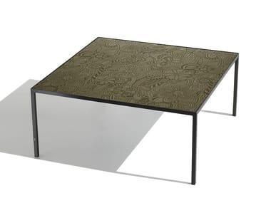 Tavolino quadrato da salotto HARRY GLASS | Tavolino quadrato