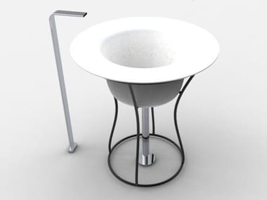 Freestanding washbasin HAT