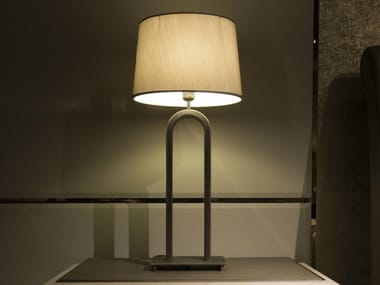 Metal table lamp with fixed arm HAUSSMANN | Table lamp