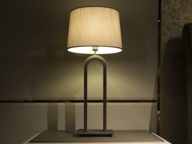 Lampada da tavolo in metallo con braccio fisso HAUSSMANN | Lampada da tavolo