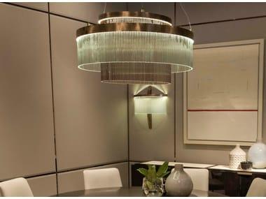Glass chandelier PARIS | Chandelier