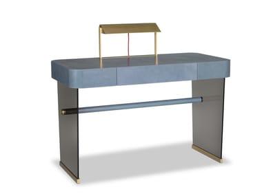 Rectangular writing desk with drawers HAZEL | Writing desk