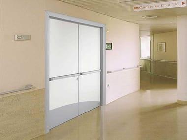 Hinged laminate door HEALTH