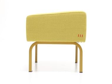 Fabric footstool HEARD-P
