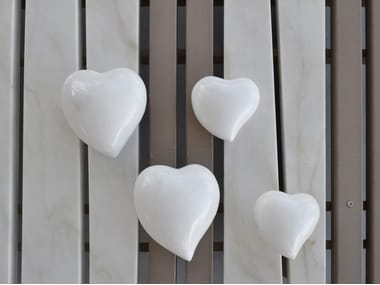 Marble decorative object HEART