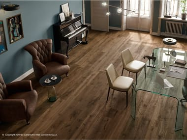 Porcelain stoneware flooring with wood effect HEARTWOOD