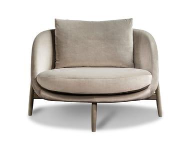 Sessel aus Stoff mit Armlehnen HEATH | Sessel