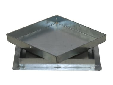 Scaffolding protection, sheet HEAVY DUTY RECESSED ACCESS COVER