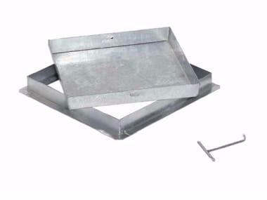 Sigillo a riempimento zincato pesante SIGILLO ZINCATO PESANTE