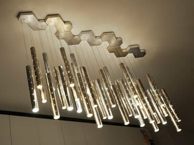Modular LED chandelier HEAVY RAIN | Pendant lamp