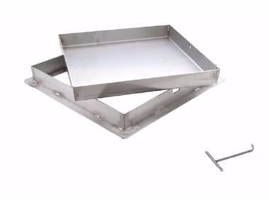 Sigillo a riempimento in acciaio inox pesante SIGILLO INOX PESANTE