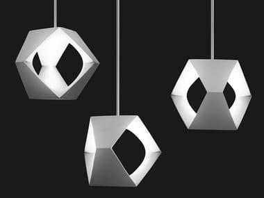 LED resin pendant lamp HELIUM