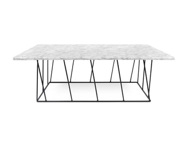 Rectangular marble side table HELIX | Marble coffee table