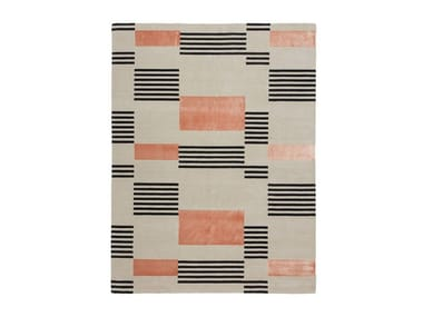 Handmade custom rug HELLO SONIA!