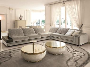 Corner sectional fabric sofa HELMUT | Sectional sofa