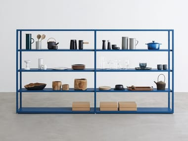 Open sectional bookcase HELSINKI | Bookcase