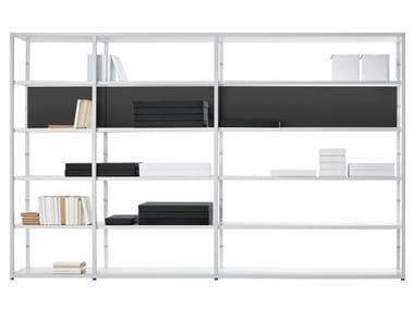 Open sectional bookcase HELSINKI | Bookcase