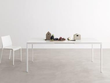 Extending rectangular table HELSINKI | Extending table