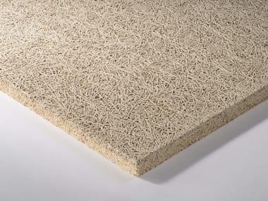 Pannelli per controsoffitto fonoassorbente in lana di legno HERADESIGN A2