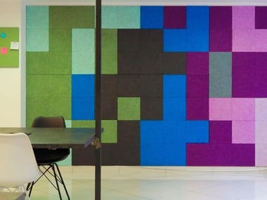 Wood wool Decorative acoustic panel HERADESIGN® creative