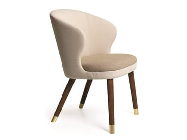 Upholstered chair with armrests HERITAGE | Chair with armrests