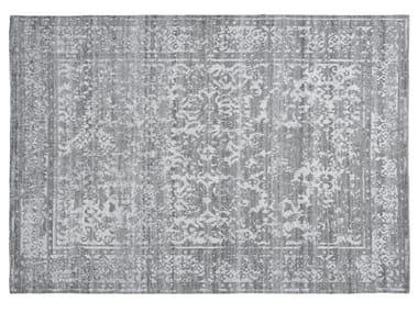 Patterned rectangular viscose rug HERITAGE