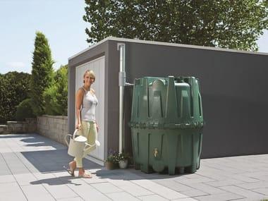 Plastic Rainwater recovery system HERKULES 1600 lt